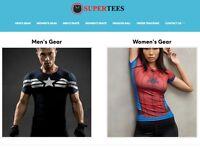 Established Profitable T Shirt Turnkey Website BUSINESS For Sale - DropShipping
