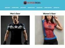 Established Profitable T Shirt Turnkey Website BUSINESS For Sale - DropShipping
