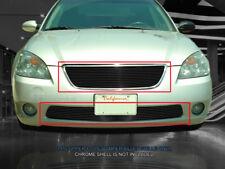 Fits 2002-2004  Nissan Altima Black Billet Grille Grill Combo