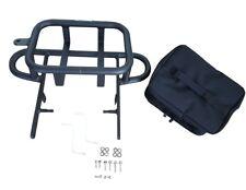 Grab Bar Six Pack Halter (Gepäckträger) mit Tasche f. Quad / ATV Yamaha YFM 700R