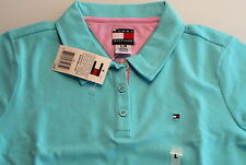 Tommy HILFIGER Polo, Azuur blauw maat 146  ( US - L )