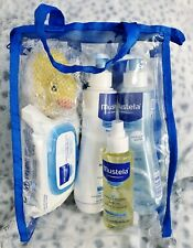 Mustela Newborn Or Baby Travel Gift Set 5 Pc Essential Baby Skin Care New Sealed