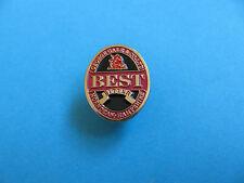 """GEORGE GALE  """" BEST""""  Bitter Beer Pin Badge,  VGC. Unused."""