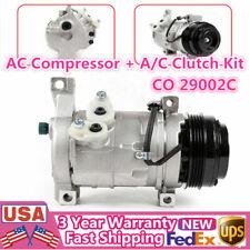 Co 29002C Ac Compressor + A/C Clutch Kit For Cadillac Escalade Gmc Sierra 1500