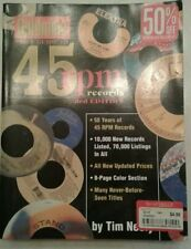 Goldmine price guide to 45 RPM records Tim Neely Third Edition book