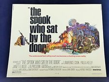 ORIGINAL 1973 THE SPOOK WHO SAT BY THE DOOR Half Sheet Movie Poster 22 x 28