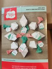 FULL KIT- WHAT A GEM  Stampin Up Paper Pumpkin July 2016