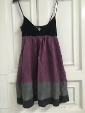 Lipsy Colourblock Silk Dress, Size 36/UK 8