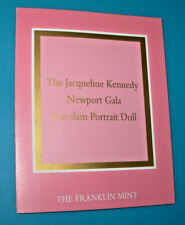 """""""Newport Gala"""" COA ONLY For Jackie Kennedy Franklin Mint Porcelain Doll"""