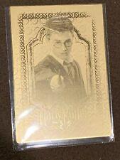 Harry Potter 3D 2nd Edition Artbox Box Topper Card Daniel Radcliffe BT1 Metallic