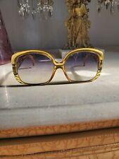 Vintage christian Dior Ladies Sunglasses 1980s Oversized Owl designer