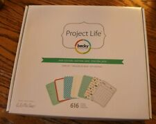 Project Life Jade Edition by Lili Niclass Core Kit Double sided cards