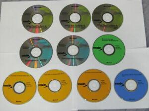 Lot of 10 Microsoft MSDN Discs (Platform/Dev Tools, Dev. Platform, Resource Kit)