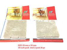 Self Adhesive Sticky Felt Pad Furniture Table Chair Legs Floor Protector -New