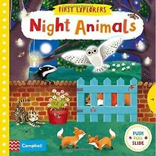 Night Animals (First Explorers), , Very Good condition, Book