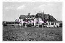 rt0059 - Merton Park , Golf Club House , Surrey - photograph