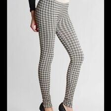 NEW Beige Houndstooth Leggings by Niki Biki One Size