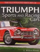 BOEK/LIVRE : History of Triumph Sports and Racing Cars (TR2,TR3,TR4,TR5,TR6,TR7