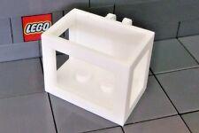 LEGO: Crane Basket 3 x 3 x 2½ with Locking Hinge (#51858) White
