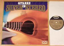 GITARRE IN SUPER STEREO  (KARUSSELL 1970 / Ladi Geisler, Kästel / LP vg++/m-)