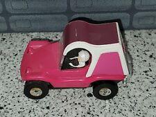 VINTAGE SLOT CAR PURPLE & WHITE