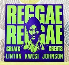 LINTON KWESI JOHNSON - Reggae Greats [Vinyl LP,1984] USA Imp MLPS 9786 Dub *EXC