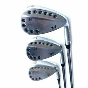 Set of 3 PXG 0311 Forged Wedges w/ NS Pro Modus 105 Wedge Steel Shafts