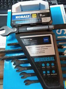 Kobalt Universal 8pc Metric Wrench Set #87225