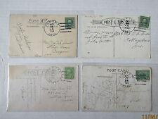 Gunter, Oregon 1915-31 POSTCARDS Family History w/  DISCONTINUED P.O.s + FINE
