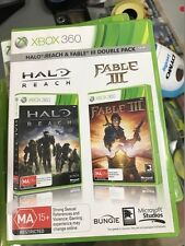 halo reach and fable III double xbox 360