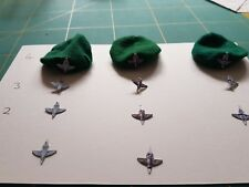 Vintage action man custom Para or Tom Stone badges for cloth berets