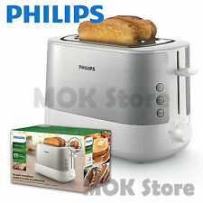 Philips Viva Collection Toaster HD2637 Warming rack Dust cover 1000W 220V