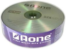25 x AONE CD-R 52X 80MIN 700MB CD AUDIO DISCS for MUSIC DATA VIDEO PHOTOS SONGS