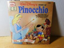 Book~Vintage~Walt Disney's Pinocchio 24 Page Read-Along (No tape Included)