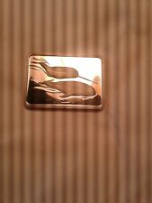 """1oz .999 FINE SILVER BAR """"AMERICAN WILDLIFE COLLECTION """"(NARWHAL)BEAUTIFUL-#210-"""