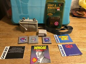 Gameboy accessory Lot