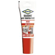 Silicone Per Alte Temperature - ROSSO - 60ml - BOSTIK fino a 300 °C
