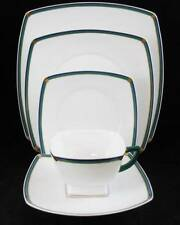 Coquet EMERAUDE 5-Piece Place Setting Showroom Inventory MINT CONDITION