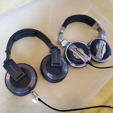 Lot of Pioneer HDJ-2000 & HDJ-1000 -  DJ Headphones - AS-IS