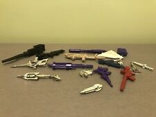 transformers g1 Vintage Weapons Lot Devastator,Soundwave