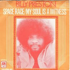 7inch BILLY PRESTON	space race	HOLLAND EX (S2825)