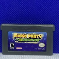 Mario Party Advance (Nintendo Game Boy Advance GBA) Authentic / Cleaned & Tested