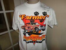 Vtg 1996 Arnie The Farmer Beswick AUTOGRAPHED GTO Drag Racing 50-50 Tshirt  XL