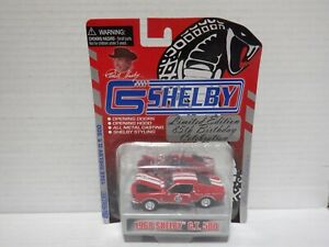 Shelby Automobiles 85th Birthday 1968 Shelby G.T. 500 (Red/White) 021721MGL