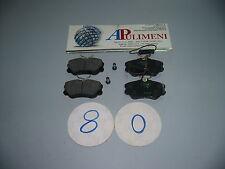 SERIE PASTICCHE FRENO (BRAKE-PADS) ANT.FIAT CROMA T.T. 88>92 LANCIA THEMA 88>91