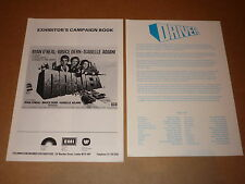 """""""Driver"""" (Ryan O'Neal/Bruce Dern) 1978 UK Campaign Book + Synopsis"""