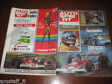 AUTOSPRINT 1976/49=RICCARDO PATRESE=JAMES HUNT=CASCO D'ORO=IRIDATO=