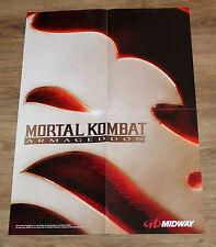 2006 Mortal Kombat Armageddon  Promo Poster 59x42cm Xbox PS2