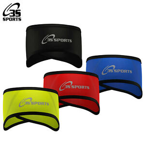 Cycling Headband Ear Warmer Thermal Windproof Running Head Band Once Size 3S New