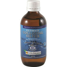 Ultimate Colloidal Silver 200ml by Medicines from Nature ( High Strength)